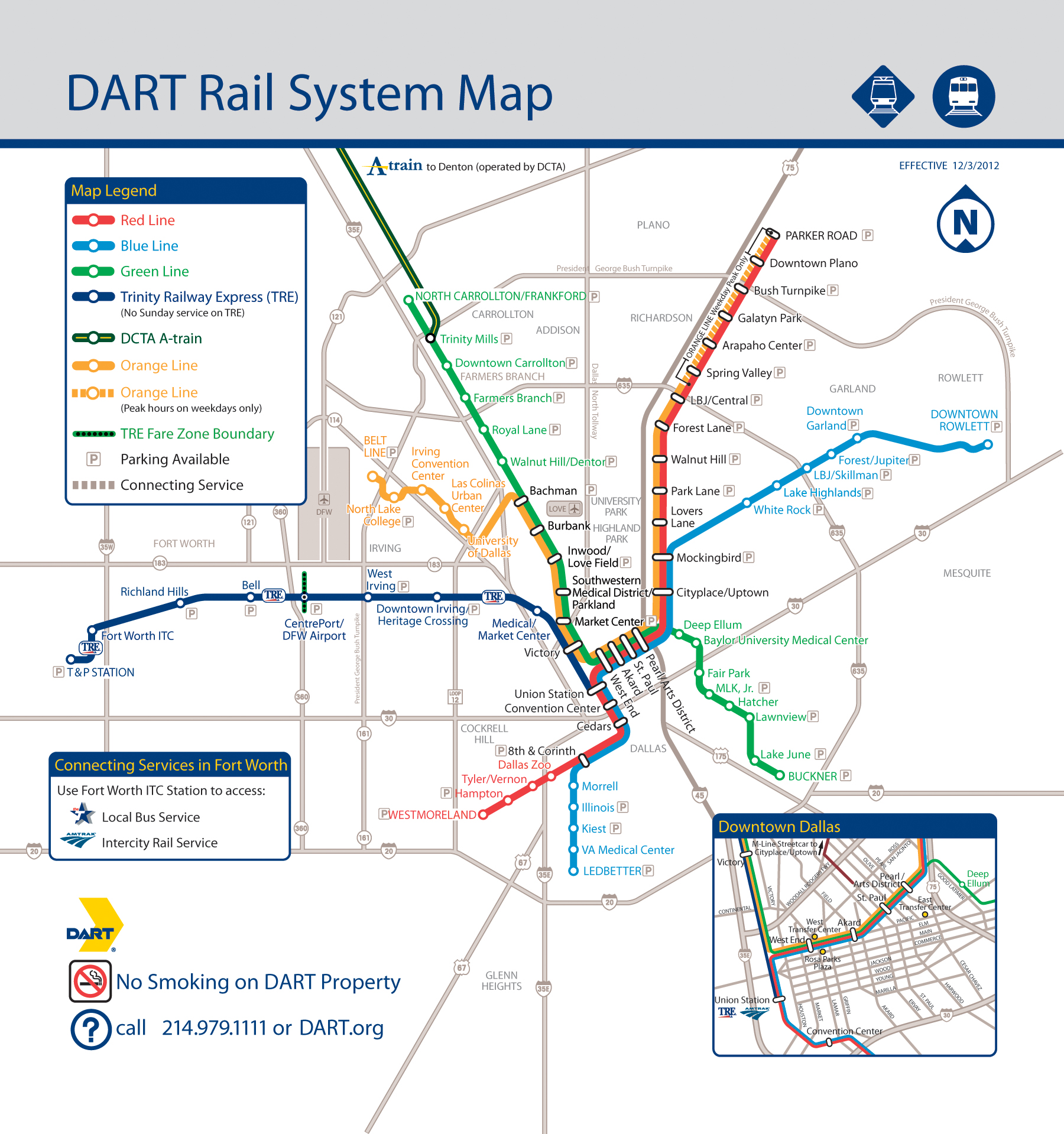dartorg  dart news release - dart rail system map high resolution jpg