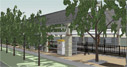 Irving Convention Center Station rendering image