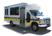 Image of a DART Paratransit Services van