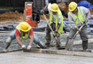 Image of concrete pouring on Scyene Road