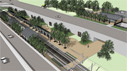 University of Dallas Station rendering image