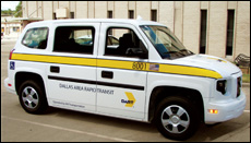 DART Paratransit MV Vehicle