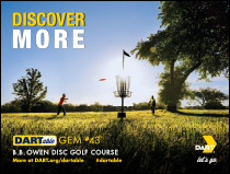 Learn more about DARTable Gem #43 B.B. Owen Disc Golf Course and other Gems, opens in a new window