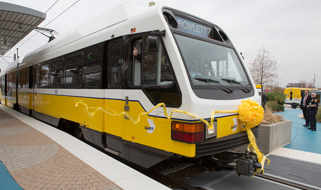 DART To Your New Neighborhood - Downtown Rowlett Station