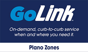 GoLink Plano Zones - Legacy West, Far North Plano and North Central Plano / Chase Oaks