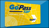 Coming Soon! Learn more about the GoPass Tap card.