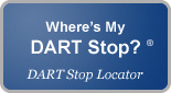 Where's My DART Stop? : DART Stop Locator