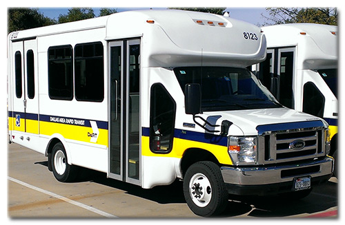 DART Paratransit Starcraft vehicle