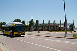 DART's new Compressed Natural Gas (CNG) buses began arriving in 2013.