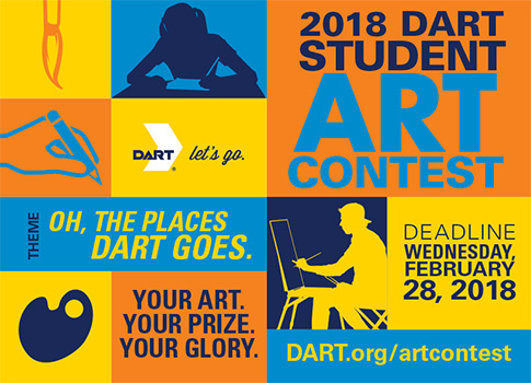 Get additional information at DART.org/artcontest