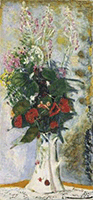 Pierre Bonnard, Pitcher with Flowers, c. 1935, oil on canvas, Dallas Museum of Art, The Wendy and Emery Reves Collection