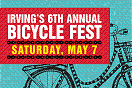 Irving's 6th Annual Bicycle Fest, Saturday, May 7