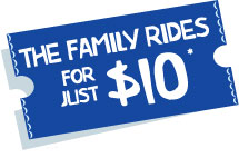 The family rides for just $10.