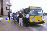 DART State Fair Shuttle at Cityplace Station