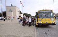 DART State Fair Shuttle at the Parry Avenue entrance gate