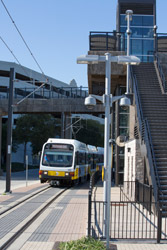 APT access at Las Colinas Urban Center Station