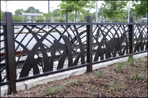 Lawnview Station Fence